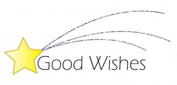 good wishes logo leslie edwards design